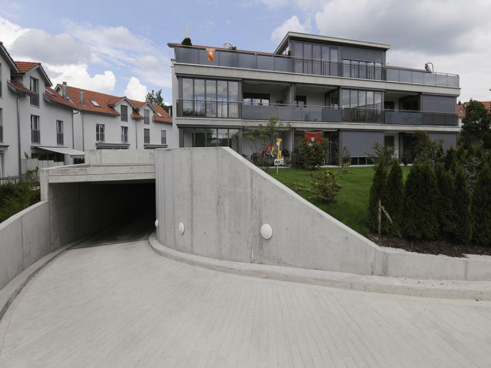 Mehrfamilienhausüberbauung in Hittnau