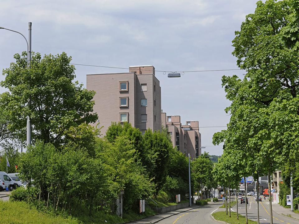 Mehrfamilienhaus in Zürich-Schwamendingen